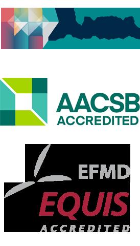 Accréditations AMBA, EQUIS, AACSB