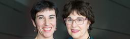 Caroline Cuny et Marianela Fornerino