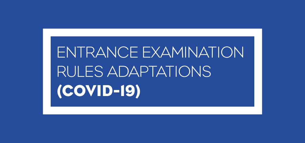 info entrance exams