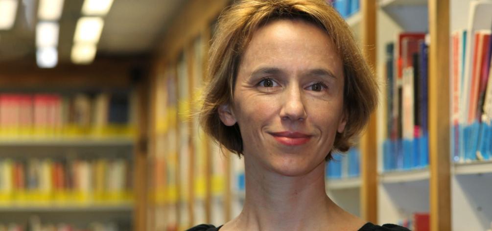Hélène MIchel, professor and serious games expert at Grenoble Ecole de Management