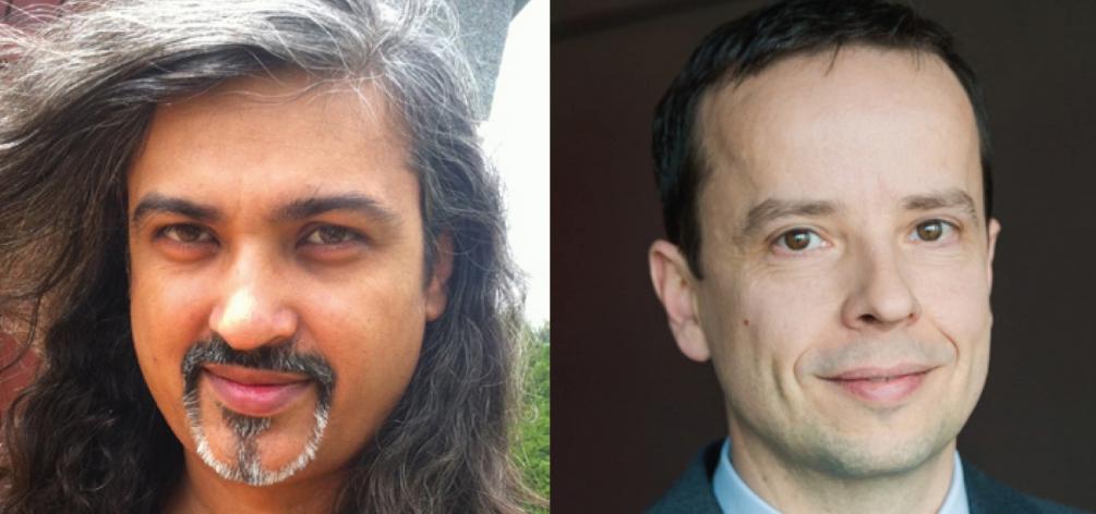 Chirag Patel et Christophe Haon