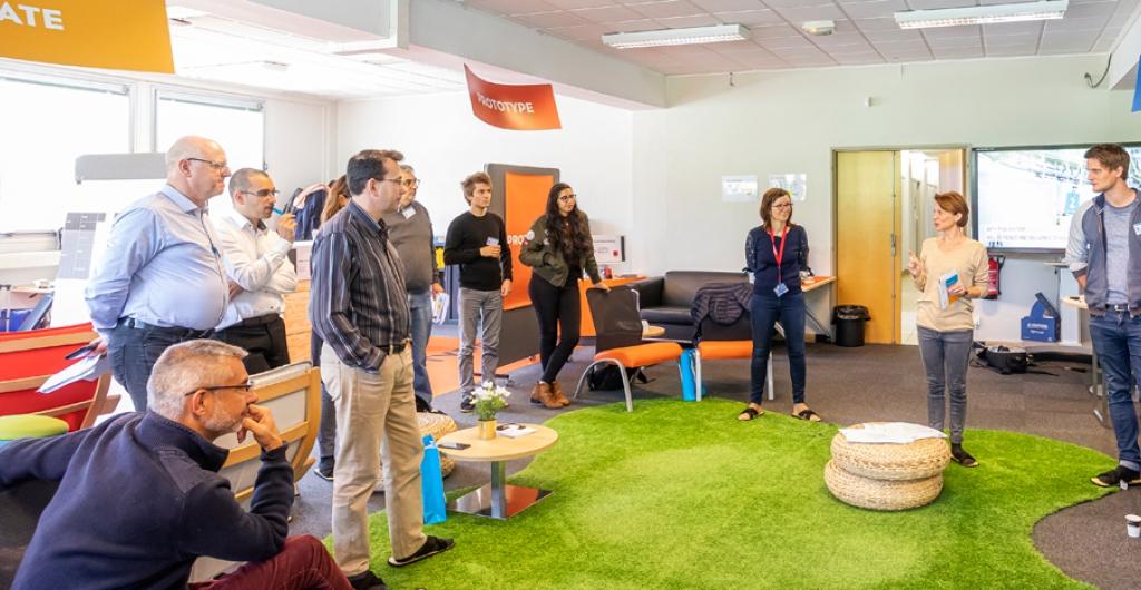 Le TIM Lab prototype l'innovation des entreprises