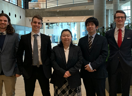 Grenoble Ecole de Management MSc Finance students win second place in the French finals of the CFA Institute Research Challenge